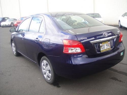 Photo Image Gallery & Touchup Paint: Toyota Yaris in Nautical Blue Metallic  (8S6)  YEARS: 2007-2008