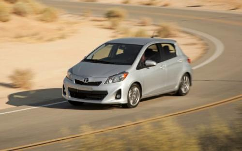 Photo Image Gallery & Touchup Paint: Toyota Yaris in Classic Silver Metallic  (1F7)  YEARS: 2012-2017