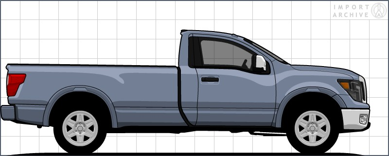 ImportArchive / Nissan Titan 2016‑ Touchup Paint Codes and