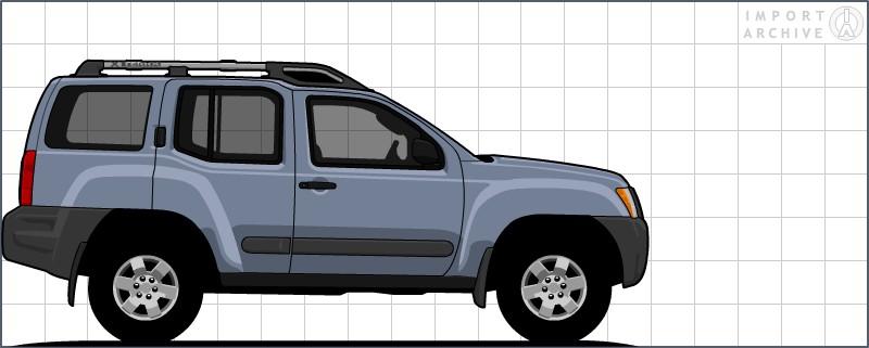ImportArchive / Nissan Xterra 2005‑2015 Touchup Paint ...