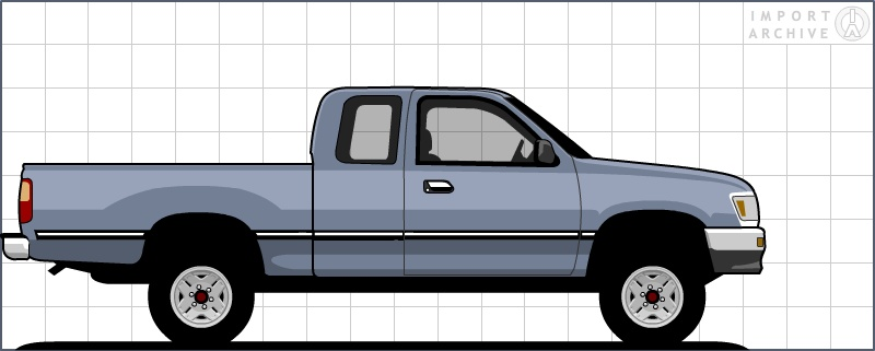 Importarchive Toyota T100 1993 1998 Specifications Pages